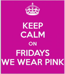 Pink Fridays are Back!
