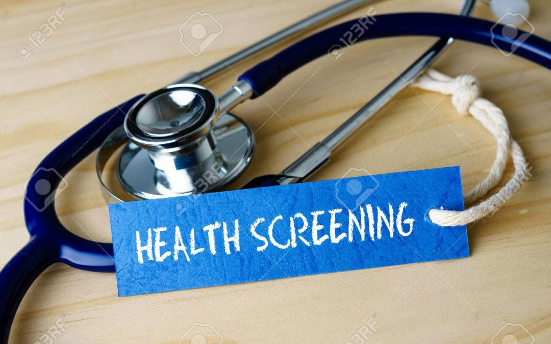 Health Screenings for 6th grade